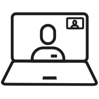 SkinSensible Corona icoon video consult